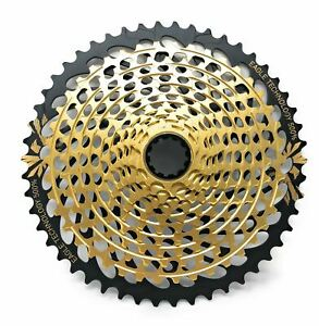SRAM XG-1299 XX1 Eagle 12 Speed MTB Bike 10-50T Cassette Gold New