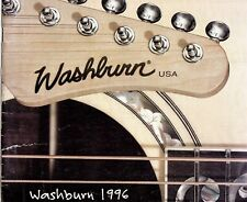 WASHBURN Guitar Products Catalogue, 1996, Fair Condition