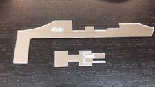 HUMMER H2 H-2 CHROME BADGE EMBLEM LOGO TRIM SET FIT 2003-07 NEW TUNING PART KIT