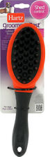Hartz Groomer's Best Shed Control Rubber Dog Brush