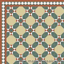 Unglazed Victorian floor  tiles exterior & interior-£162.00sqm²