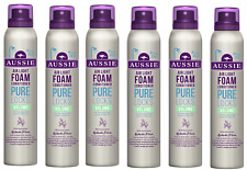 6x Aussie PURE LOCKS Air Light Foam Volume Conditioner 180ml
