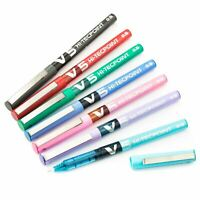 Pilot V5 Hi-Tecpoint Liquid Ink 0.5mm Rollerball Pen BX-V5 in 7 Colours