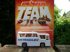 MAJORETTE TEAM FRANCE années 80 MINIBUS AIR FRANCE 1/87 Neuf blister scellée