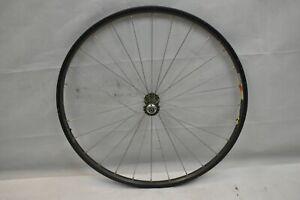 "Mavic X517 26"" Front MTB Wheel Chris King Hub Gray OLW100 16mm 28S PV US Charity"