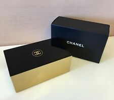 CHANEL Beauty Cosmetic Box Cotton Pad Box Jewelry Storage NIB 13.5x8.5x5.5cm
