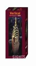 JIGSAW HY29552 Heye Puzzles Vertical,1000 Pièces Chrysler Construction New York