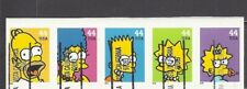 "CALIFORNIA Precancels: Set of ""The Simpsons"" Stamps - Vista  (#4399-4403)"