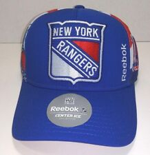 superior quality 81897 d58e6 Reebok NHL Center Ice Hockey Collection New York Rangers Snapback Hat New