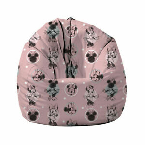 Kids Bean Bag Chair Couch Sofa Cover Disney Mouse Beanbag Gaming Indoor Lounger