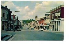 1978 postcard- Queen Street, Main Business District, St. Mary's, Ontario, Canada