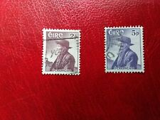 Ireland stamps 1957 sg 166-167 used set