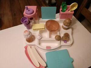 Playskool Food Ice Cream Shop Set Vintage Pretend Play