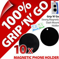 10x Universal Dash Car Holder Magnet Mount for Mobile Smart Phone Remote Sat Nav