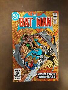 Batman #361, 362, 364 1983 Dark Knight 2nd Lt Harvey Bullock High Grade Man-Bat