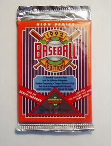 1992 UPPER DECK Baseball 'High Series' Factory Sealed Pack (15 cards)