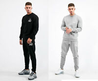 Kings Will Dream KWD Mens New Tracksuit Top Sweatshirt Joggers Crosby Black Grey