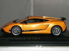 Modellini statici di auto, furgoni e camion arancione MINICHAMPS per Lamborghini