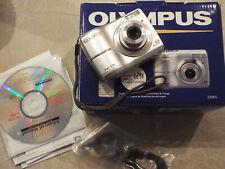 Olympus FE-170 6.0MP Digital Camera - Silver