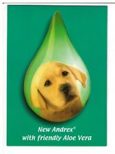 Postcard: New Andrex with friendly Aloe Vera