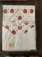 Ladybugs vintage Mead letter set sealed in box new old stock