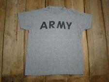 Vintage Us Army t shirt -Ash Super Soft and Authentic Vintage Original 1980's
