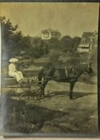 7 Vintage Old 1907 Photos from KENNEBUNKPORT Maine Mansion House People Sailboat
