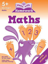 Help With Homework - Maths - 5+ Key Stage 1 *FREE P&P*