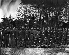 New 8x10 Civil War Photo: 149th Pennsylvania Infantry in Petersburg, Virginia