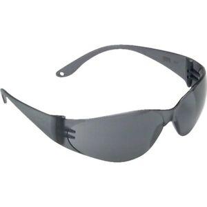 NEW MSA 10006316 Close Fit Safety Glasses, Anti-Fog Lens, Black Frame 0363341