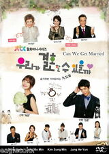 Can We Get Married? Korean Drama (4DVDs) Excellent English & Quality!
