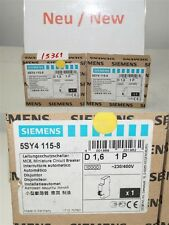 SIEMENS 5SY4115-8 Miniature Circuit Breaker MCB D 1,6 1