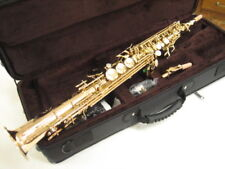 CHATEAU SOPRANO SAXOPHONE MODEL CSS80L, PRO MODEL, 2 NECKS, HIGH G KEY!