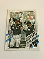2021 Topps Baseball Checklist #14 - Eloy Jimenez - Chicago White Sox