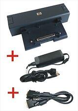 Original HP Dockingstation HSTNN-IX01 + DVI Kabel für diverse HP Compaq Modelle