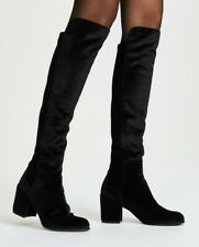 Size 10 Stuart Weitzman Black Suede Lowjack Over the Knee Boots $665