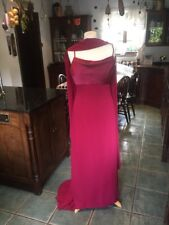 long evening dress 2 X size 12 used