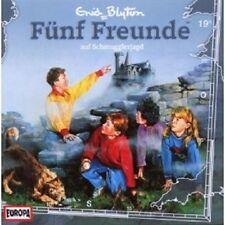 "FÜNF FREUNDE ""AUF SCHMUGGLERJAGD (FOLGE 19)"" CD HÖRBUCH NEUWARE"