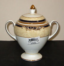 Wedgwood CORNUCOPIA covered SUGAR BOWL (globe shape) NEW