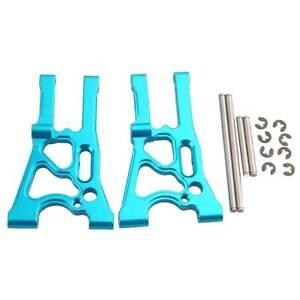 R/C 107899 Blue Front Lower Arm&pin 2PCS For HPI WR8 FLUX Ken Block Gymkhana