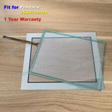 Touch Screen Glass + Screen Protective Film Fit for Pro-face HMI 3580208-01
