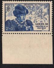 VARIÉTÉ N°743 /b: ( LE PAPIER JAUNATRE ) - BORD  de feuille -  LOUIS XI