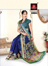 Pakistani Designer Bollywood Saree Indian wedding TRADITIONAL silk sari Ethnic b