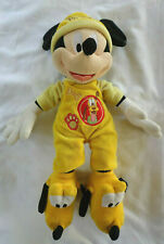 """Disney Parks Mickey Mouse Plush in Pluto Outfit Pajamas Costume w/ Slippers 17"""""""