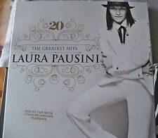 """LAURA PAUSINI """"20th THE GREATEST HITS"""" 4LP COPY N. 698/1500 RARE OUT OF PRINT"""