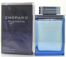 Chopard POUR HOMME 75 ml EDT Spray Neu OVP