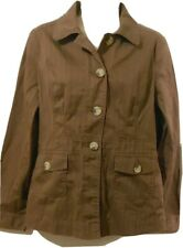 Bass Brown Long Sleeve Jacket S