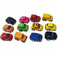 Paquet de 12 VéHicules Miniatures À Tirer Miniatures Jouets Miniatures Joue R7B2