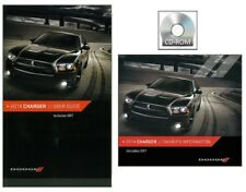 2014 Dodge Charger User Guide plus Owner Manual DVD Operator Book Fuses