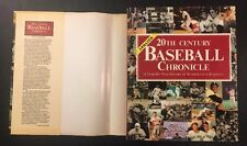 20th Century Baseball Chronicle Year-By-Year History MLB 1,239 Photographs 1992